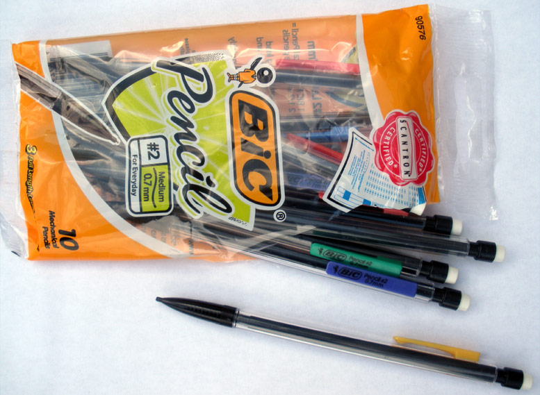 Mechanical pencils good for photorealism