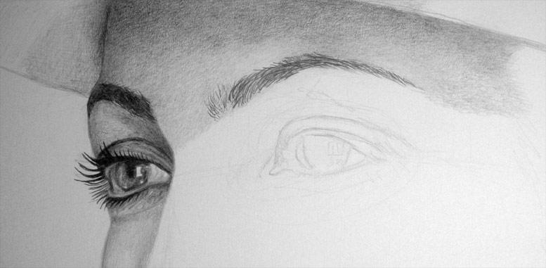 Free Photorealistic Pencil Drawing Tutorial By Carlos Aleman