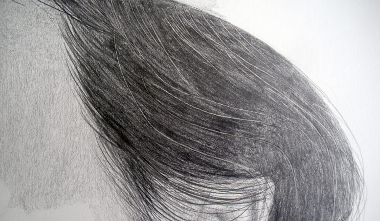 Pencil Shading Hair Tutorial