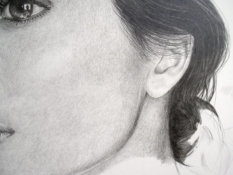 Free photorealistic pencil drawing tutorial by carlos aleman